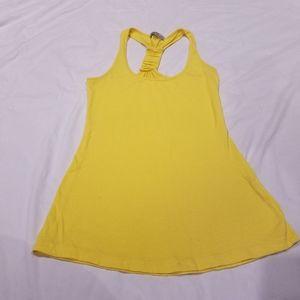 Yellow Charlotte Russe tank top size xs